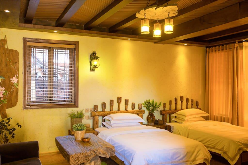卧室和双床
