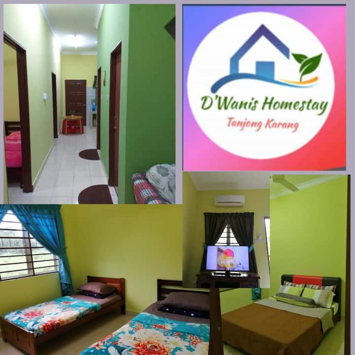 D'Wanis Homestay (B)Tanjung Karang