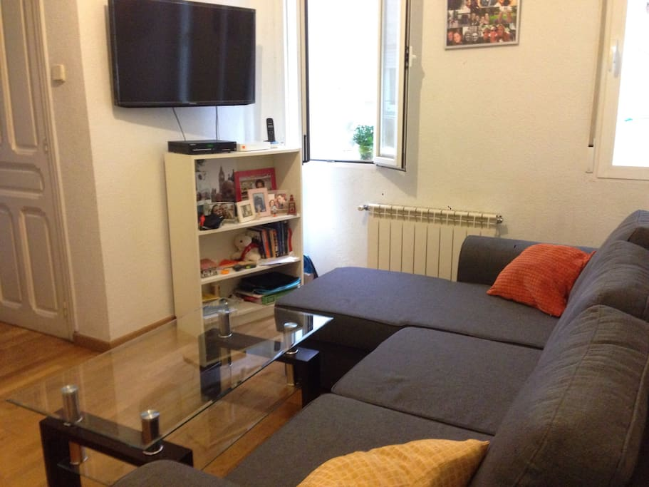 El salón / livingroom