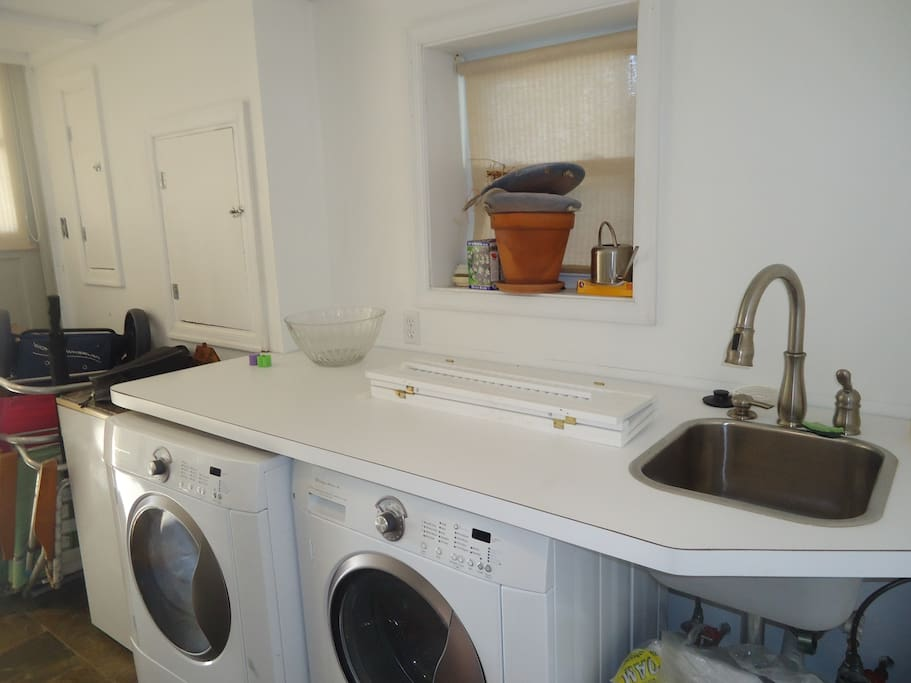 Washer and Dryer and all amenities!