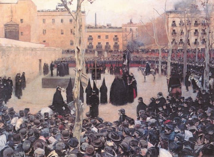 El garrote vil en Granada