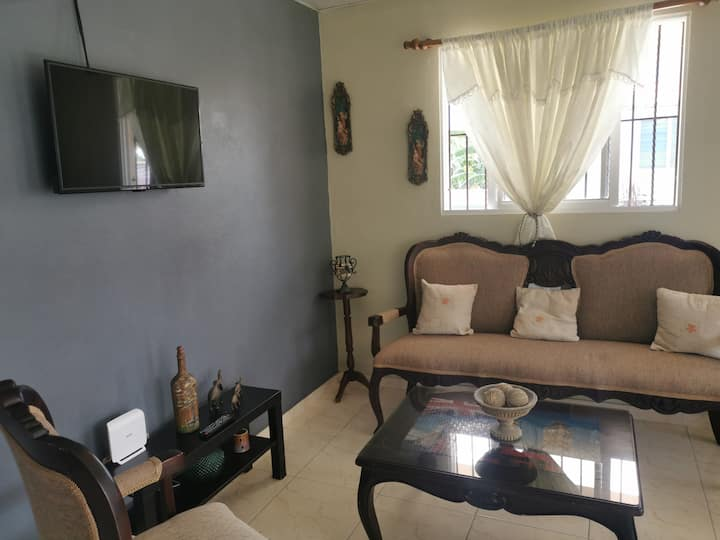 Apartment located in a quite and central area.