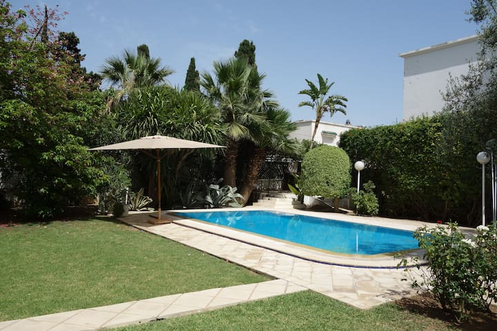 Nice Loft + swimming pool & big garden - Tunis