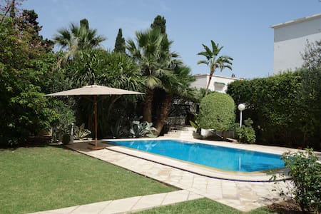 Nice Loft + swimming pool & big garden - Tunis - Loft-asunto