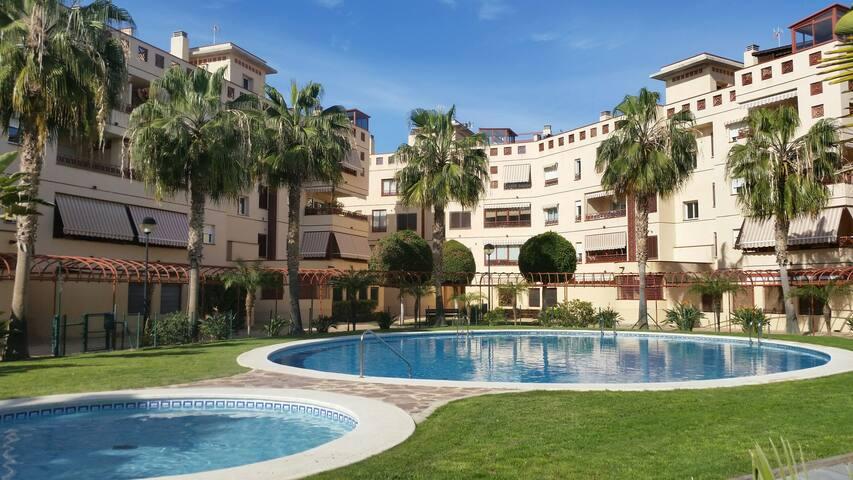 Playa 3min,internet,terraza,piscina - San Juan de Alicante - Casa