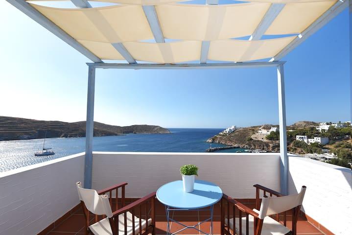 SYROS//Denia House...amazing private view!!!