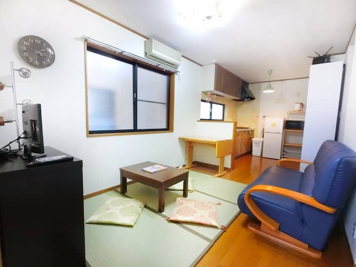Shinjuku  JR Shin-okubo sta. 3mins Homely House
