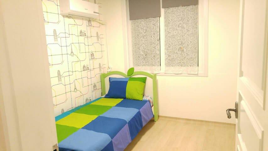 편안한 작은 방