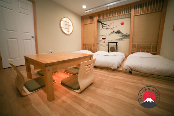 Fuji-San Hotel: Japanese Studio 20min from NYC