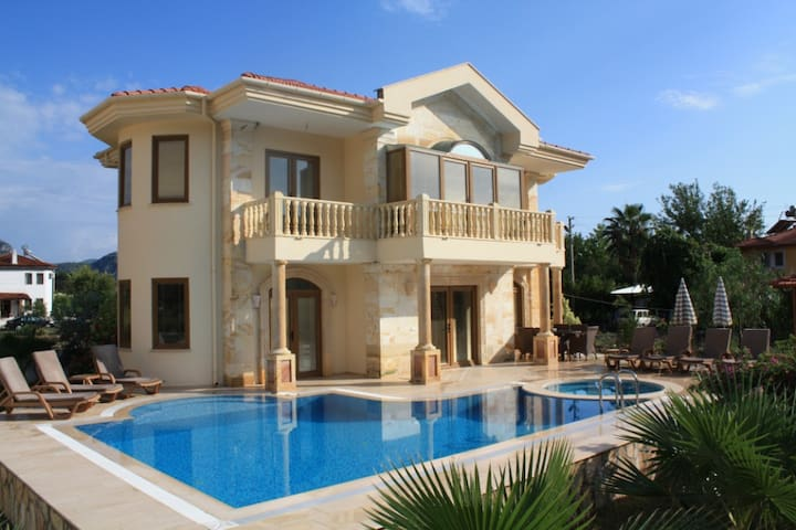 Luxury Villa, Private Pool & Spectacular Tomb View - Ortaca - Vila