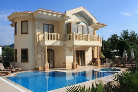 Luxury Villa, Private Pool & Spectacular Tomb View - Ortaca - Huvila