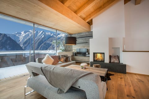 HIGH-END PENTHOUSE┃3BR┃SAUNA┃KITZBÜHEL ALPS