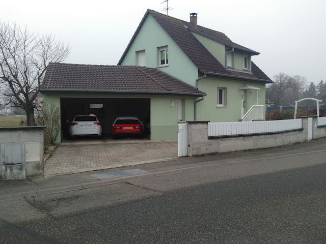 detached house in quite village - Ruelisheim
