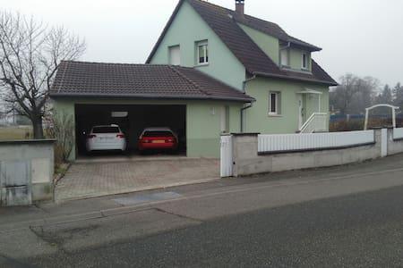 detached house in quite village - Ruelisheim - Huis