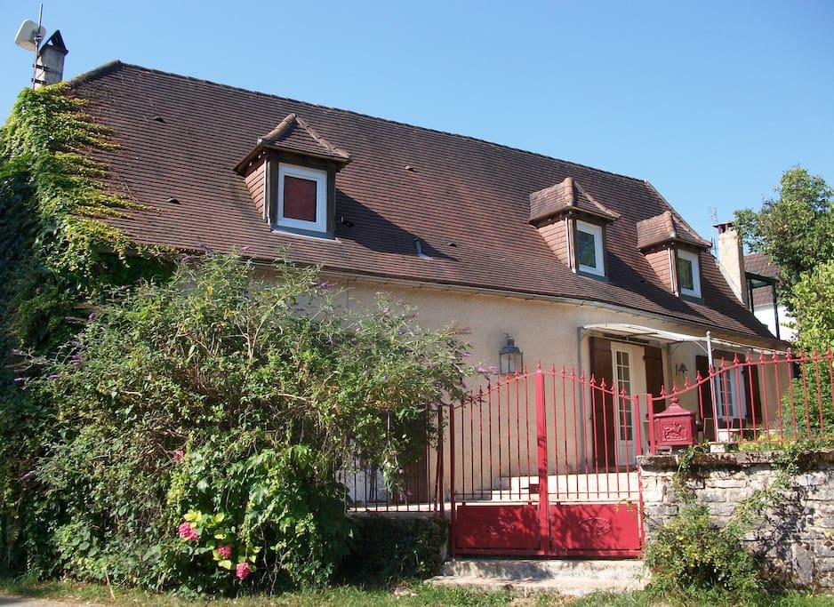 Maison périgourdine restaurée