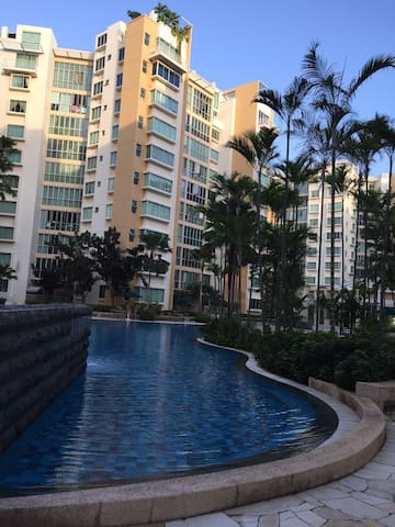 Nice Condo at Tampines w/ nearby public transport - Singapur - Apartament