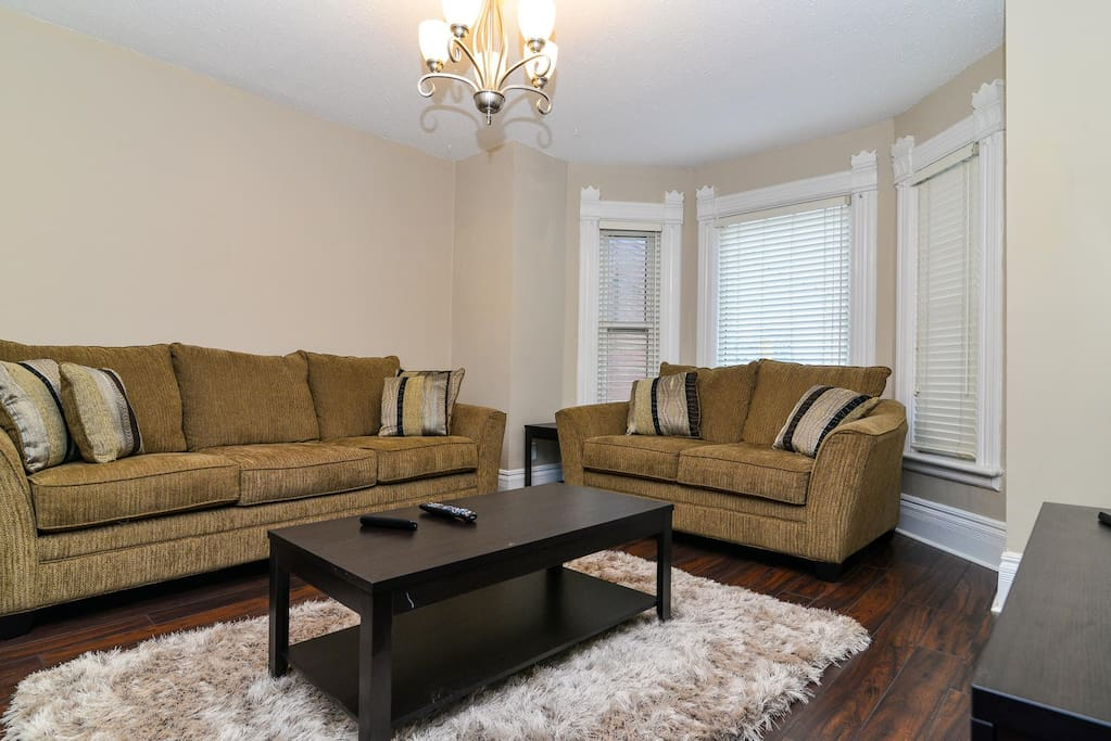 Large Sitting Room with Super Comfy Sofa for your Relaxation.