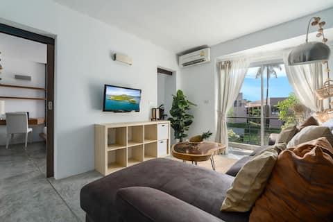 Private 1 Bedroom Apartment, 53 sqm, Bophut