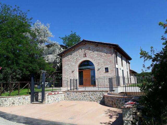 Villa Giulia in the Siena Hills