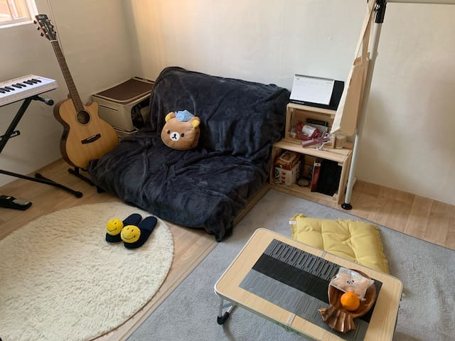 Private Room/Rooftop/HUFS(3min station)/Hoegi st.