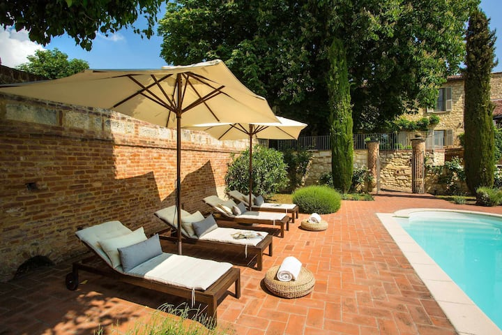 VILLA TRUFFLE ideal for families, in the heart of MONFERRATO