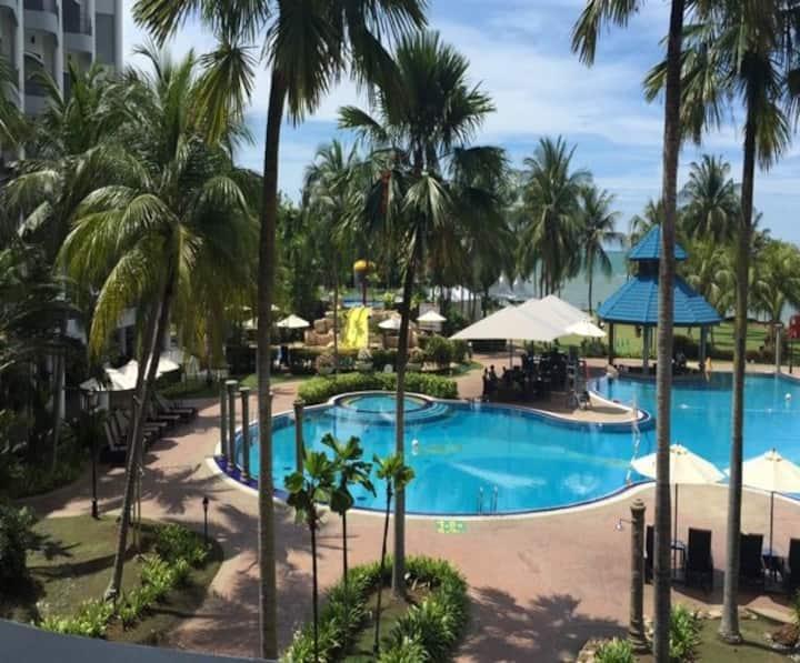 Thistle Port Dickson Resort, Deluxe Garden ABF#5