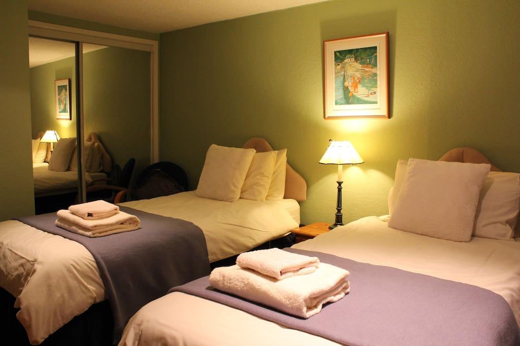 R1 en suite with sea view