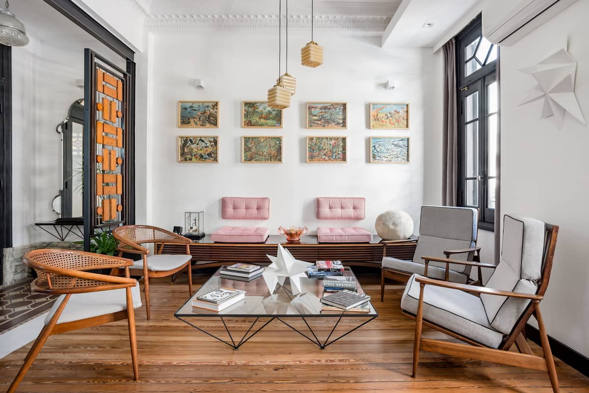 Suite de diseño en nuevo alojamiento boutique en el corazón de Ciudad Vieja.