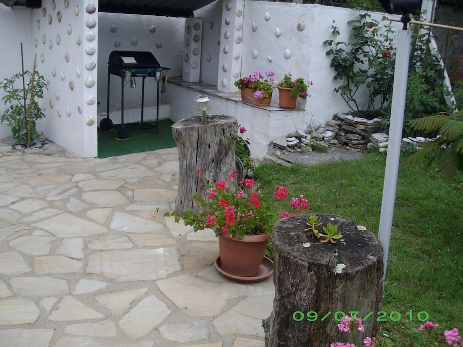 Appart 40 m2 guethary avec terrasse et jardin - Terrasse jardin botanique montreal poitiers ...