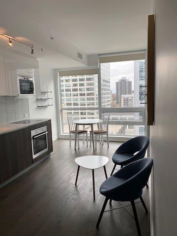 Modern Downtown Studio- Centretown