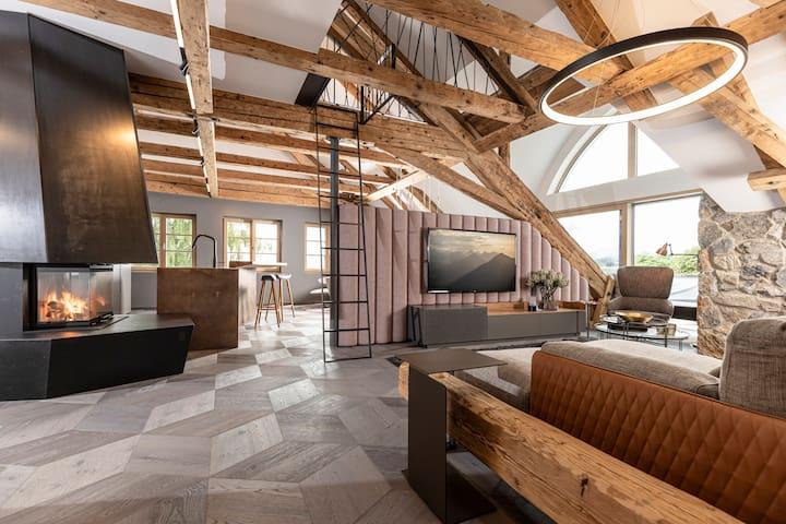 Luxuriöse Ferienwohnung im Herzen der Alpen