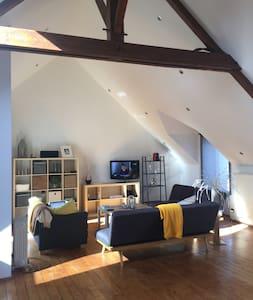Magnifique maison plein bourg - Pipriac - Hus