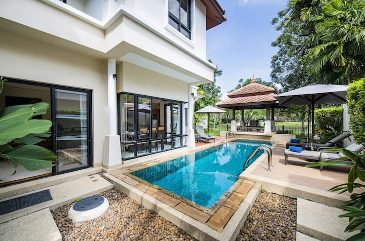 3 BR Laguna Pool Villa N 6