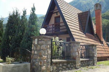 Perucac Tara,Drina,Bungalow Detelina 6 person