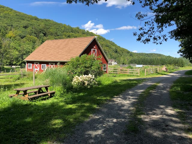 Studio on Beautiful VT Homestead- family friendly!