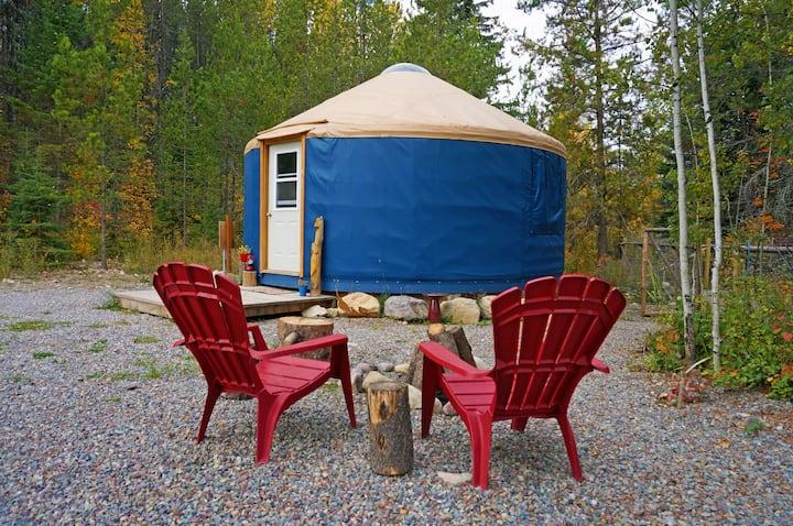 Mooseshroom Yurt