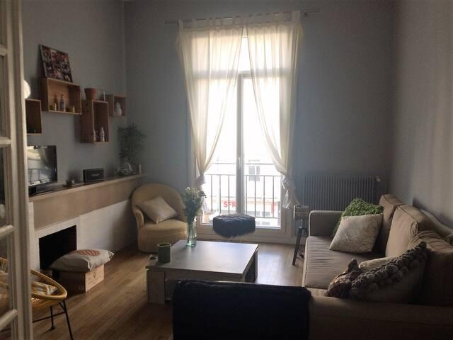 Appartement rue Nationale, plein centre de Tours
