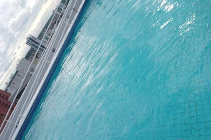 MIRAMAR- JP Ap:1502 cm piscina em João pessoa PB