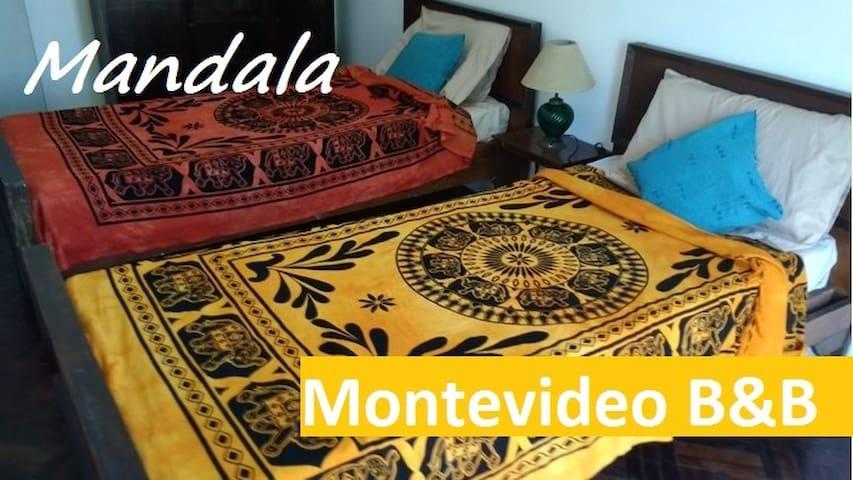 MANDALA  B&B en el corazón de Montevideo 3