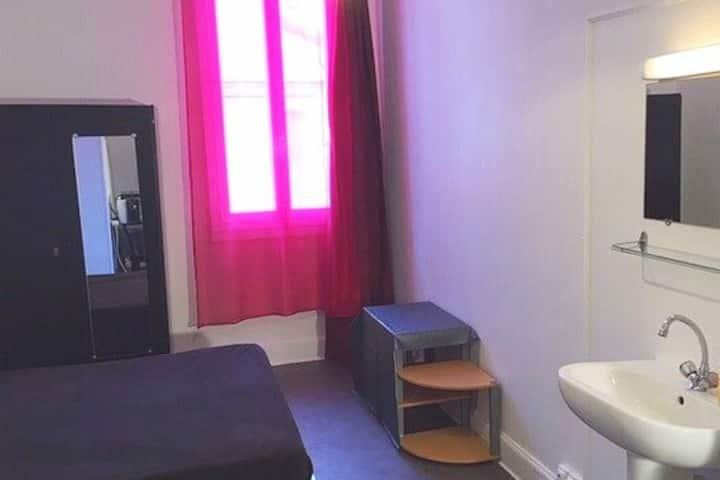 Votre grande chambre à Lourdes