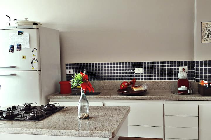 Apartamento Guarujá | Enseada 500 mts da praia