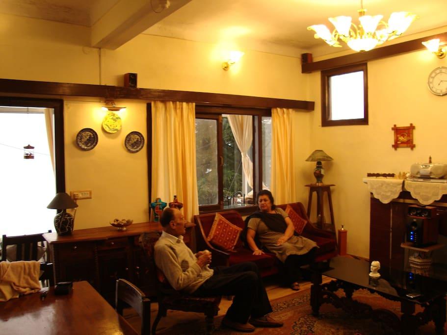 The Living area-Main Hall