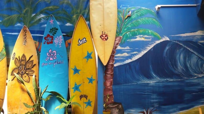 Quarto privado - Aloha Surf Hostel