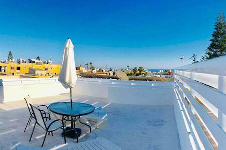 Exclusive roof terrace with sea view - 2 bedrooms