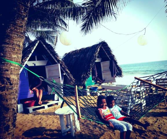 Take It Easy - Beach Huts - Boossa - Skjul