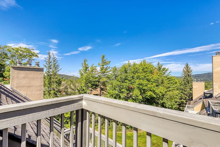 Cozy condo w/ shared pool, hot tub, sauna & more - walk to slopes!