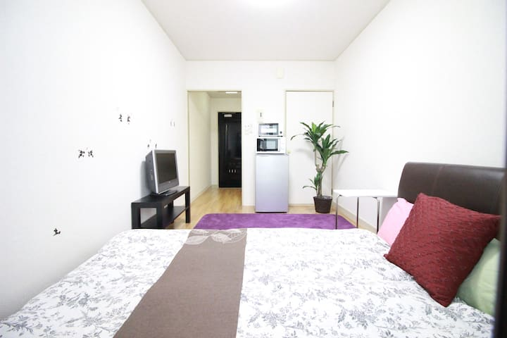 Osaka!Namba! quiet and comfy room★Wifi★103