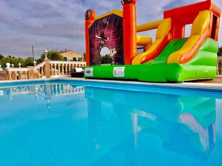 Villa MARIA súper lujo 10 huéspedes