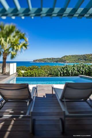 Bikini Villa- 1 BR- Lorient Bay - Gustavia