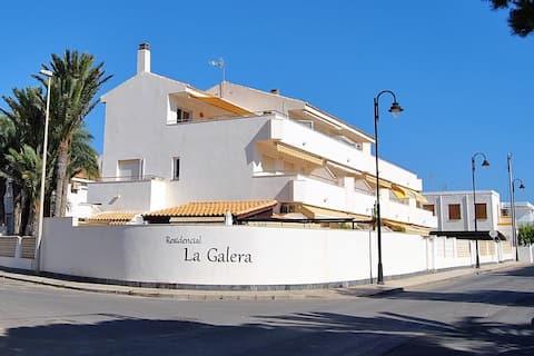 """""""La Caracola"""", cozy beach home in Cabo de Palos"""